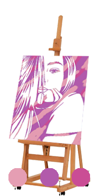 Флип-флоп портрет палитра 4
